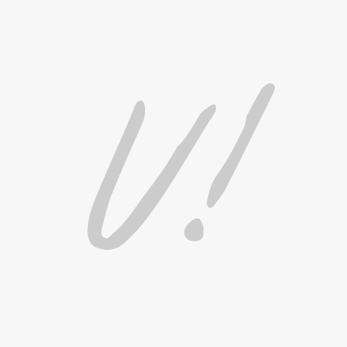 Mini Pyper Two-Hand Studded Brown PVC Watch